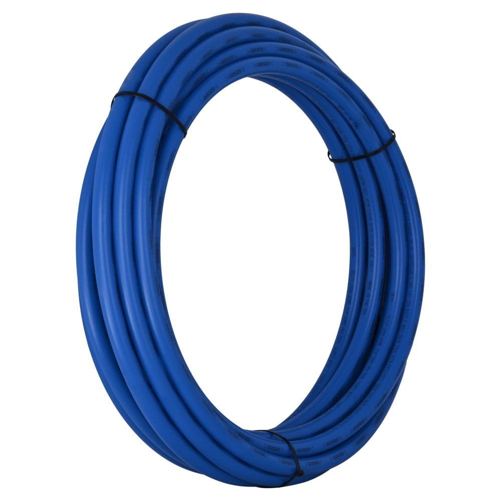 SharkBite U860B50 Pex Pipe for Cold Water, Coil, 1/2 x 50, Blue