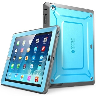 iPad 2 Case, SUPCASE , Apple iPad Case Unicorn Beetle Pro Series Full-body Protective Case,iPad 2 Case-Blue/Black