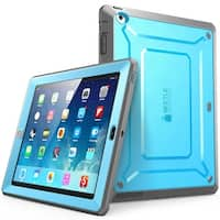 iPad 4 Case,SUPCASE, Apple iPad Case Unicorn Beetle Pro Series, Case Cover with Screen Protector-Blue/Black
