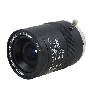 Unique Bargains CCTV Camera F1.4 Aperture Monofocal Manual Iris Lens