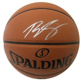 Ben Simmons Autographed NBA I/O Signed Full Size Basketball JSA COA 4