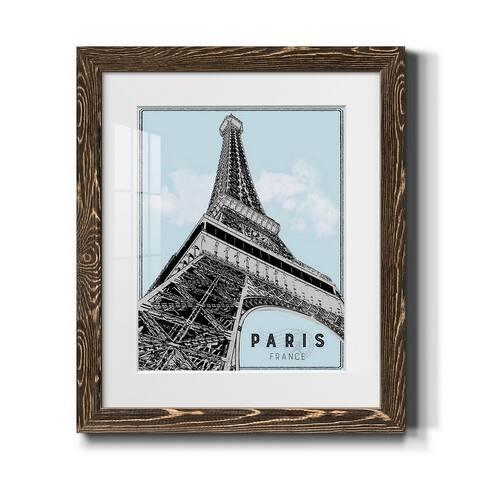 Mid Modern Paris-Premium Framed Print - Ready to Hang