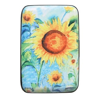 Women's Sunflower Print - Identity Protecting RFID Wallet - One size
