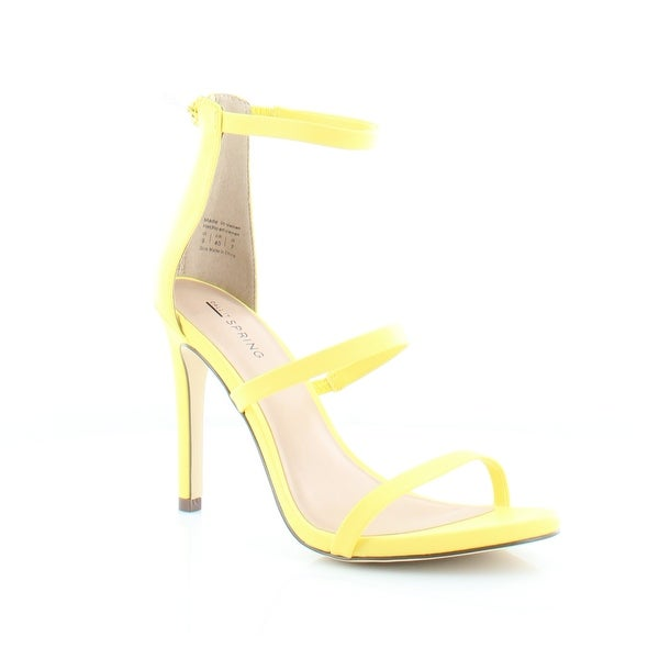 Call It Spring Call It Spring Astoelia Heels Yellow buy cheap nicekicks VtVZLOo0Cz