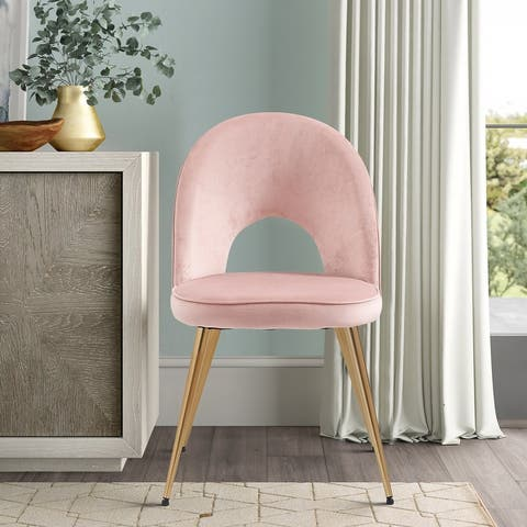 Buy Pink Velvet Kitchen Dining Room Chairs Online At Overstock Our Best Dining Room Bar Furniture Deals