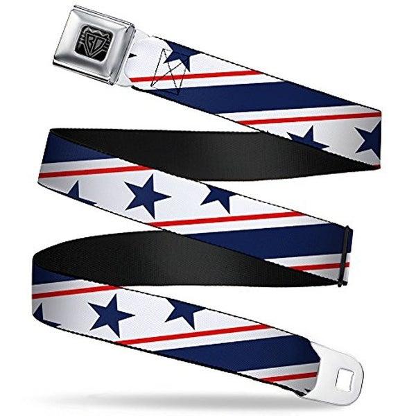 Buckle-Down Seatbelt Belt Americana Regular