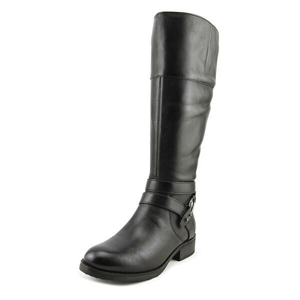 Bandolino Tessi Wide Calf Women Black/Black Boots