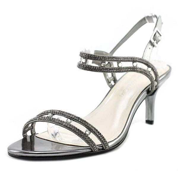 Caparros Happy Women Open Toe Synthetic Silver Sandals