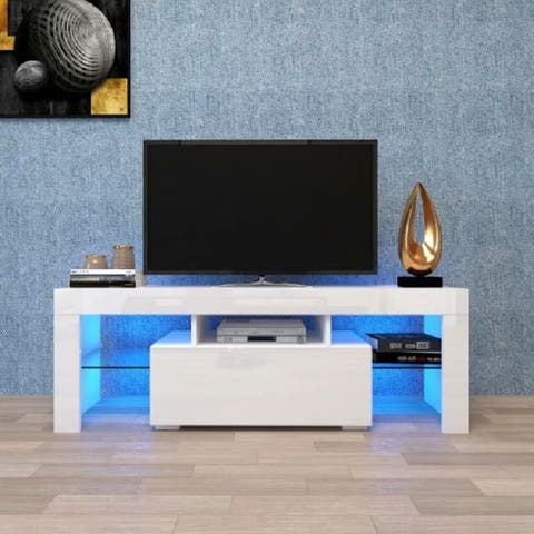 SuperBrite Large Entertainment Stand for TV , TV stand