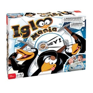 Igloo Mania Game - Children's Board Game for Ages 5 and Up - multi-color