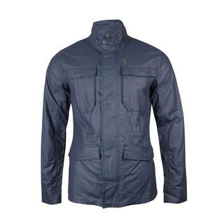G-Star Raw Men's Four Pocket Cotton Blend Zip Jacket - XL