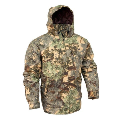 King's Camo Classic Cotton Insulated Hooded Ripstop Jacket Desert