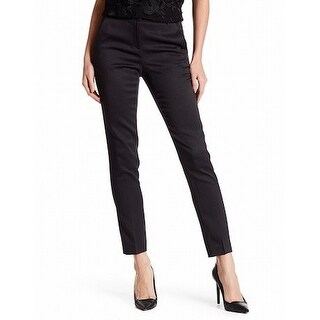 T Tahari NEW Dark Gray Women's Size 10X30 Rhea Dress Pants Stretch
