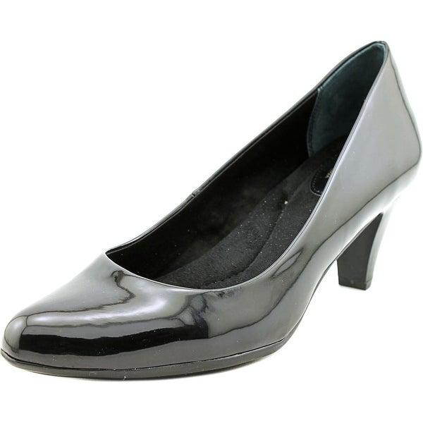 Giani Bernini Tessah Women Round Toe Synthetic Black Heels
