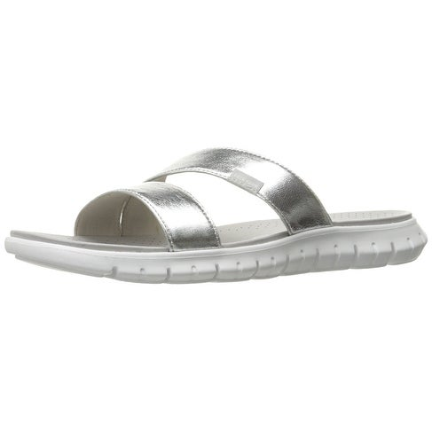 d2ae534fd0d9 Shop Cole Haan Womens Zerogrand Open Toe Casual Slide Sandals - Free  Shipping Today - Overstock - 17802828