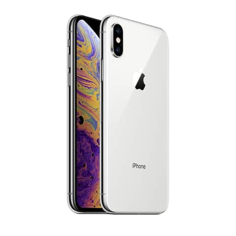 Apple iPhone XS 64GB Silver - Unlocked - Acceptable