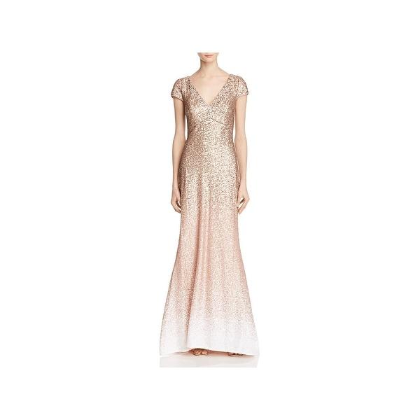 ec1d085463 Shop Carmen Marc Valvo Womens Evening Dress Sequined Ombre - Free ...