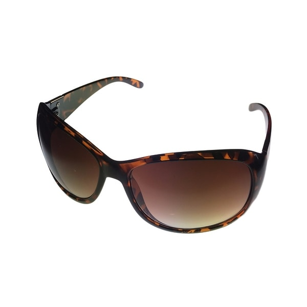 Kenneth Cole Reaction Women Sunglass Tortoise Rectangle, Gradient Len KC1101 52F - Medium