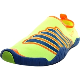 Ballop Spandex Polymesh Wing Water Shoes Men Round Toe Canvas Yellow Water Shoe