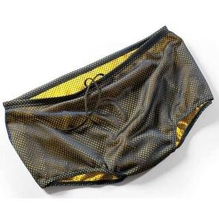 FINIS Men's Reversible Drag Suit - Navy/Yellow