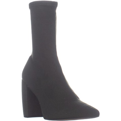 Kenneth Cole New York Alora Stretch Pointed Toe Ankle Booties, Army - 7.5 US / 38 EU
