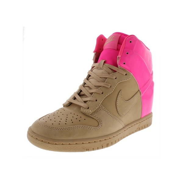 sneakers for cheap 0c145 7f5d7 Nike Womens Dunk Sky Hi Vt Qs Fashion Sneakers Leather Covered Wedge