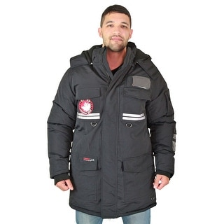 Canada Weather Gear Mens Faux Goose Down Expedition Parka