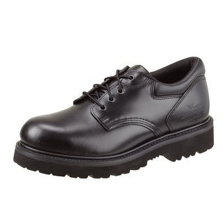 Thorogood Work Shoes Mens Classic Academy Oxford ST Black 804-6449