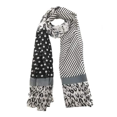 Women's Fashion Chiffon Print Scarf Lightweight And Soft
