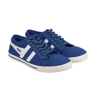 Gola Comet Mens Blue Textile Lace Up Sneakers Shoes