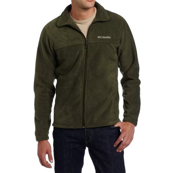 591bd4158d49 Shop Columbia NEW Olive Green Mens Size Large L Full-Zip Fleece ...