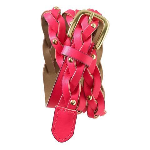 Aeropostale Womens Neon Braided Belt