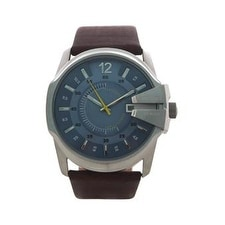 Diesel Dz1399 Brown Leather Strap Watch Watch For Men