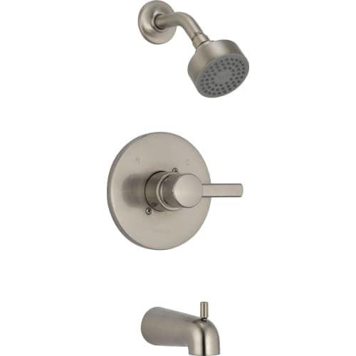 Peerless PTT188792 Pressure-Balancing Shower Faucet Trim with Shower ...