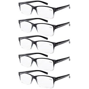 7d5d6b7976ae Shop Men 5-pack Spring Hinges Vintage Reading Glasses Readers Black-clear  Frame +3.0 - Free Shipping On Orders Over  45 - Overstock - 15894660