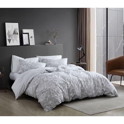 Kenneth Cole Merrion Organic Cotton Grey Duvet Cover Set