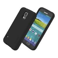 Incipio DualPro Shock Absorbing Case for Samsung Galaxy S5 - Black/Black
