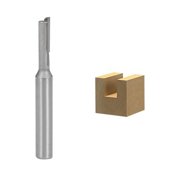 """Router Bit 1//4 Shank 3//16/"""" Coupe diamètre Straight Flute Carbide cutter outil"""