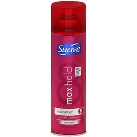 Suave Max Hold Hairspray Aerosol Unscented 11 oz