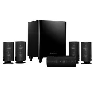Harman Kardon HKTS-20BQ 5.1 High-Performance, 6-Piece Home Theater Speaker System