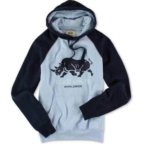 Ecko Unltd. Mens Roaming Rhino Pullover Hoodie Sweatshirt