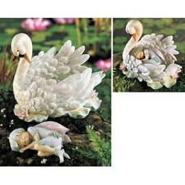 Swan Lake Fantasy Fairy Garden Decor