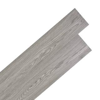 vidaXL Self-adhesive PVC Flooring Planks 54 ft² Dark Gray Nonslip Floor Tile