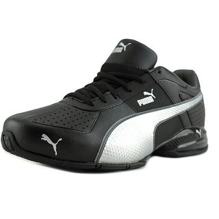Puma Cell Surin 2 Fm Men Round Toe Leather Black Sneakers