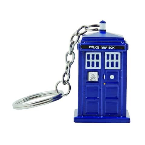 Doctor Who TARDIS Key Chain Flashlight - Multi