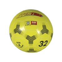 Sportime No 4 Soccer Ball Trainer, Yellow
