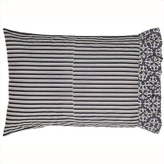 VHC Brands 18014 21 x 30 in. Elysee Pillow Case #44; Set of 2