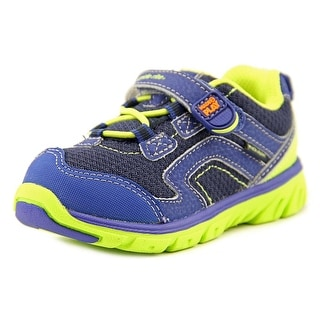 Stride Rite M2P Baby Jake W Round Toe Leather Sneakers