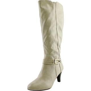 Karen Scott Holdenn Wide Calf Women Round Toe Synthetic Knee High Boot