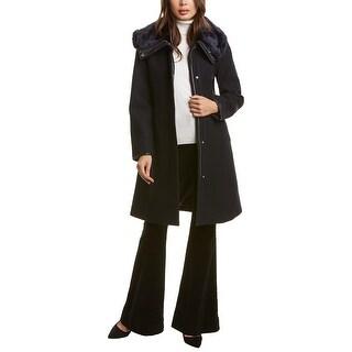 Link to Nine West Funnel Wool-Blend Coat Similar Items in Women's Outerwear